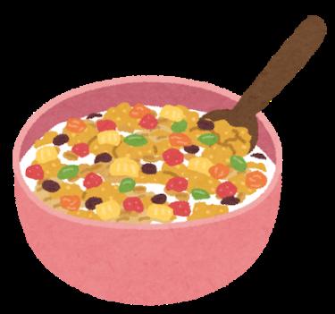 フルーツグラノーラって健康的?美味しいけど栄養素がヤバいって話。